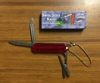 Frost Cutlery Multi-function Swiss Style Keychain Knife 2 1/4 Closed