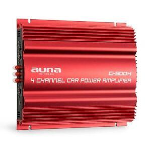 Amplificateur-voiture-Ampli-4-canaux-pontable-Sono-Auto-4x-65W-RMS-Chassis-metal