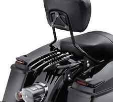Detachable Backrest Sissy Bar w/ Stealth Luggage Rack Fit Harley Touring 09-16