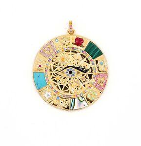 THOMAS-SABO-Anhaenger-Silber-Amulett-Magische-Glueckssymbole-PE855-993-7