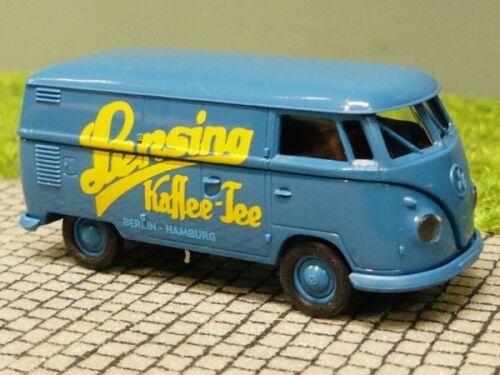 1//87 Brekina # 1304 VW t1 a recuadro lensing café té colección Reinhardt