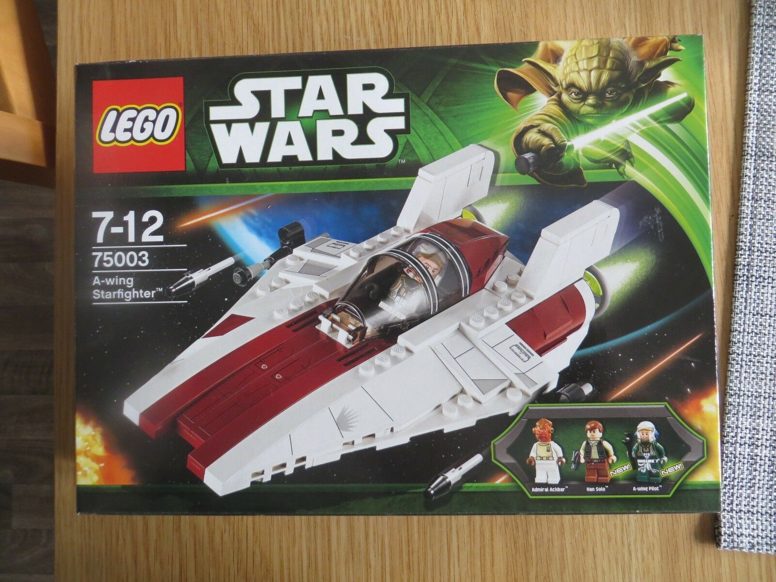 Lego Star Wars 75003 A-Wing Starfighter. New & Sealed.