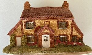 Lilliput Lane Stone Cottage Inglaterra Colección Miniatura Hecho a mano decoración de Reino Unido 1982