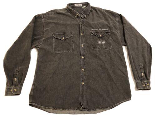 Rare House Of Blues Sunset Strip Button Down Shirt