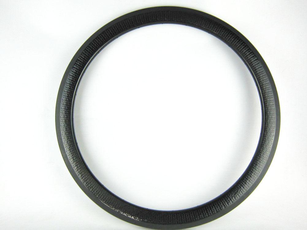 Sólo 1x45mm 58mm Cubierta Borde de ciclo de fibra de carbono tubular hoyuelo acabado, 25mm Ancho