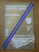 25/01/1969 Preston North End v Chelsea [FA Cup] (Slight Creased).