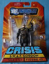 "S.W.A.T Gordon/crisi/DC infinite EROI/3.75"" Action Figure/Mattel"