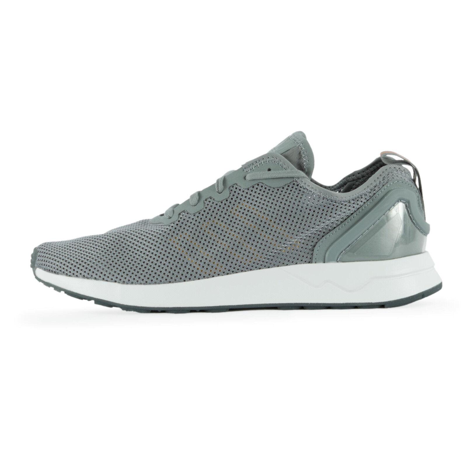 adidas Herren Sneaker S76554 ZX Flux ADV SL Grey / 40 2/3 (40) / Turnschuhe