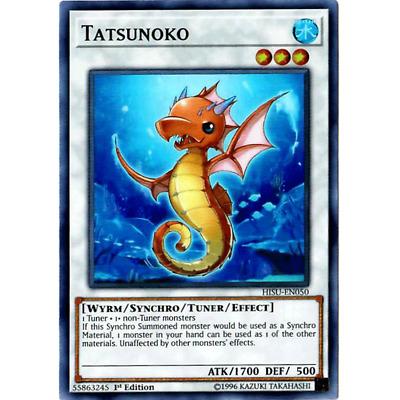 3x Tatsunoko 1st Edition Super Rare HISU-EN050 Yu-Gi-Oh!