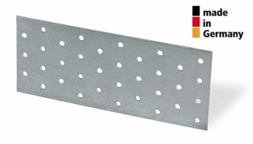 Lochplatte 40 x 120 x 2,0mm Lochplatten Lochbleche Nagelplatten MADE in GERMANY