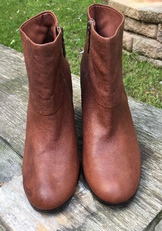 278 NEW Cole Haan Cassidy Chestnut Leder Ankle Stiefel sz 10.5 Booties