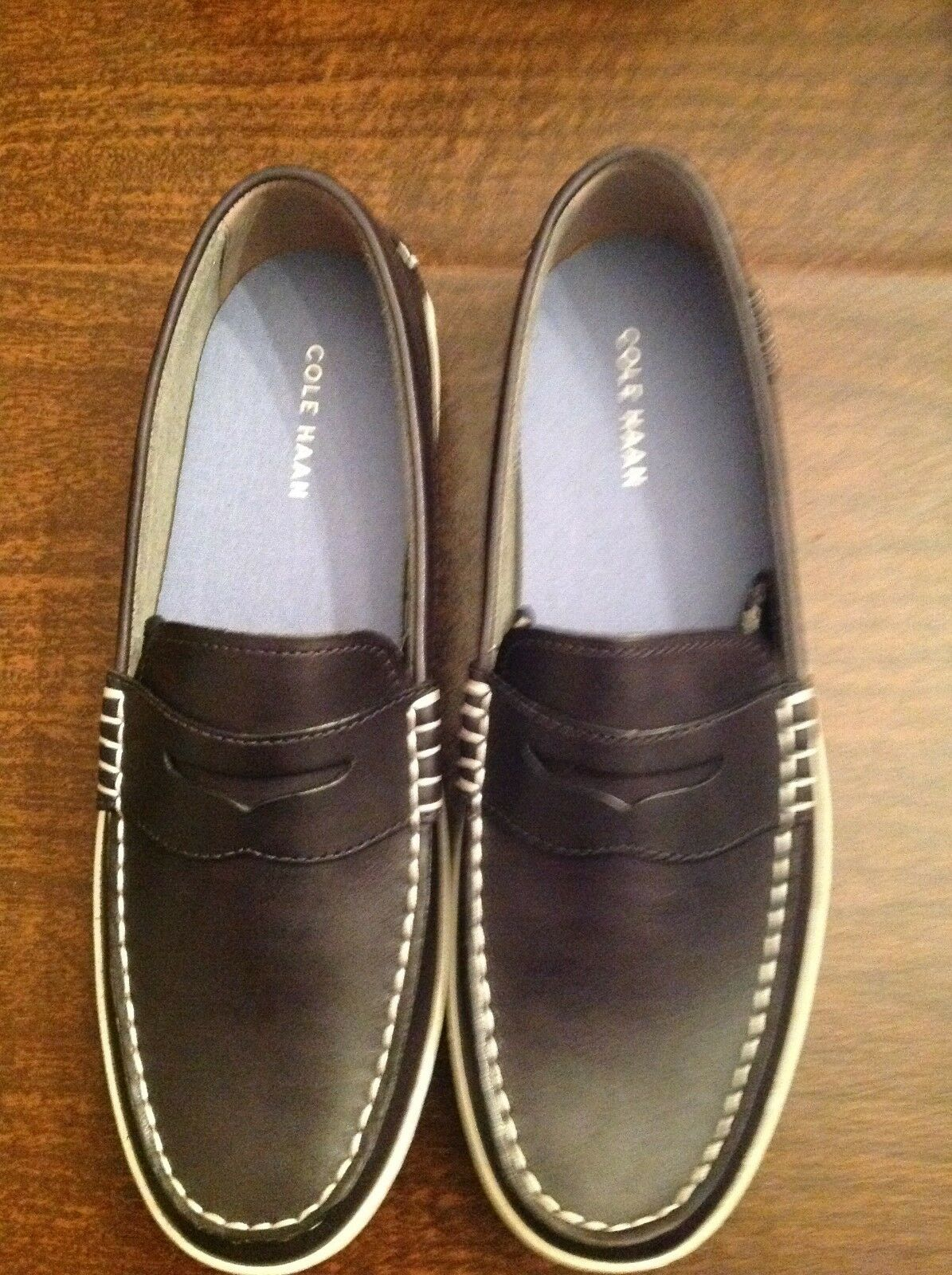 Cole Haan Men's Pinch Road Trip Navy(Blue) Penny Loafers  Size: 11.5M   NIB