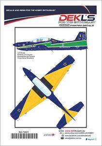 Decals-Embraer-Tucano-Esquadrilha-Da-Fumaca-Aerobatic-Team-1-72-Scale