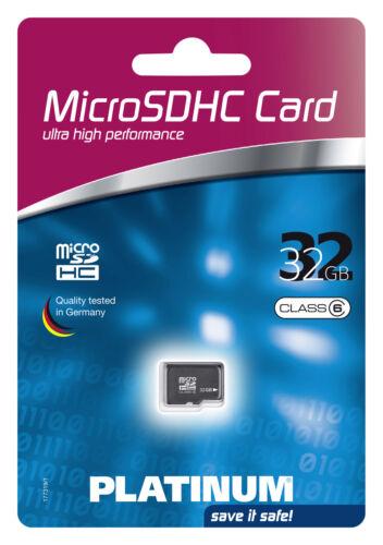Platinum Micro SDHC 32 gb class 6 tarjeta de memoria