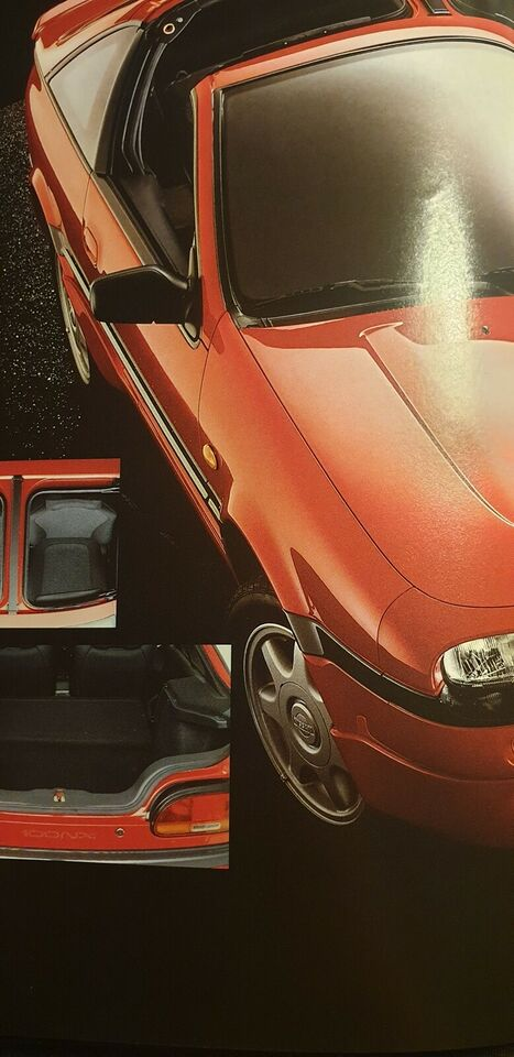 Brochure, Nissan 100NX