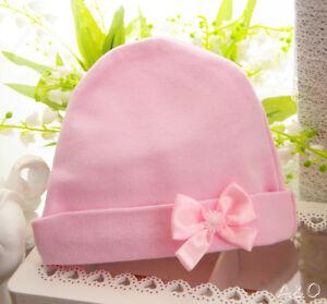 Haube Baby Mütze Rosa 34 36 38 40 42 44 46 48 50 Häubchen Taufe Erstlingsmütze Zu Den Ersten äHnlichen Produkten ZäHlen Accessoires Hüte & Mützen