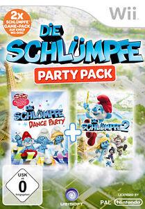 Die Schlümpfe: Party Pack - Nintendo Wii (NICHT WII U KOMPATIBEL!) (NEU & OVP!)
