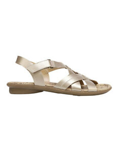 fe501e8f6d6f Image is loading NEW-Naturalizer-Wyla-Champagne-Sandal-Gold