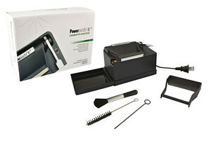 NEW-Powermatic-2-II-Electric-Cigarette-Injector-Machine-MAKE-KING-amp-100-MM