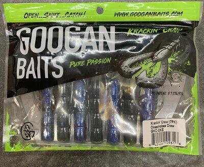"""Googan Baits 4/"""" Krackin/' Craw Okeechobee Craw"""