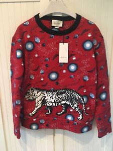01a9d712722 Image is loading NWT-FW-039-18-GUCCI-Space-Tiger-Red-