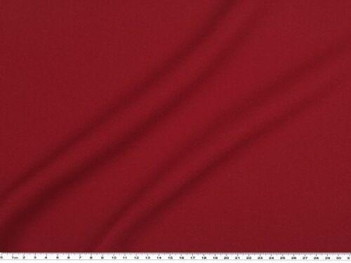 bordeaux prix au mètre largeur 150cm Tissu Crêpe de ployester