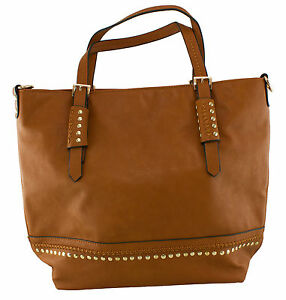 Image Is Loading Saint Sabrina Tenacious Tote Security Handbag Cognac
