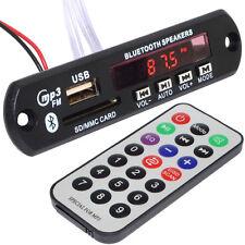 12V High Power Subwoofer MP3 Bluetooth Decoder Board Motorcycle Car Amplifier