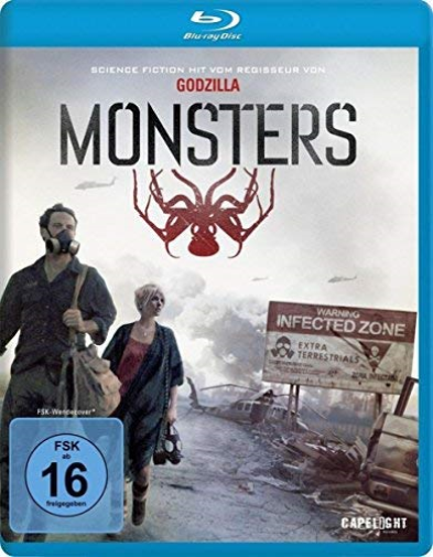 EDWARDS,GARETH-MONSTERS (BLU-RAY) - (GERMAN IMPORT) (US IMPORT) BLU-RAY NEW