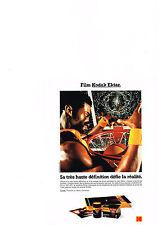 PUBLICITE ADVERTISING   1992   KODAK    FILM EKTAR 100