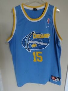 buy online 17b85 efd9b Vtg Carmelo Anthony # 15 Throwback 76 Denver Nuggets NBA ...