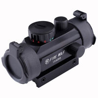 Fire Wolf 1x40 Hunting Holographic Riflescopes Red Green Dots Optical Sight