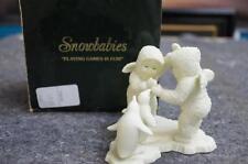 "Snowbabies "" Playing Games Is Fun"" Figurine Lot 661"