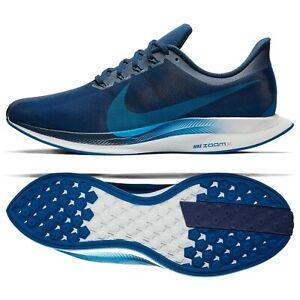 Details about Nike Zoom Pegasus 35 Turbo AJ4114-400 Indigo Force/Blue/Red  Men's Running Shoes