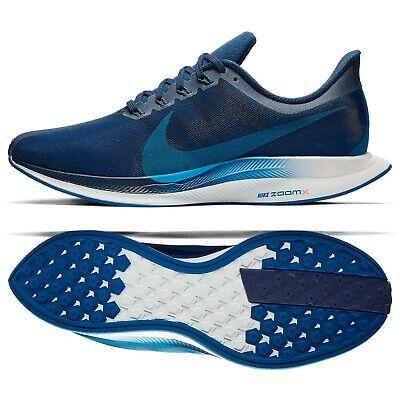 formar estropeado Adaptar  Nike Zoom Pegasus 35 Turbo AJ4114-400 Indigo Force/Blue/Red Men's Running  Shoes | eBay