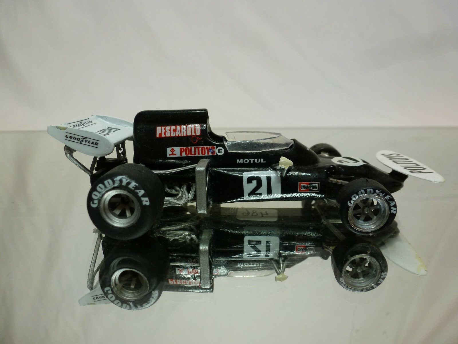 KIT (built) (built) (built) - formule 1 car 1972 henri pescarolo POLITOYS 1 43  NICE CONDITION 74c5b7