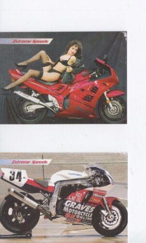 Extreme Speeds 1996 Promo Card Set With 5x7 Photo Margaret Scarborough Very Rare