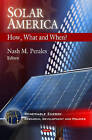 Solar America: How, What and When? by Nova Science Publishers Inc (Hardback, 2010)