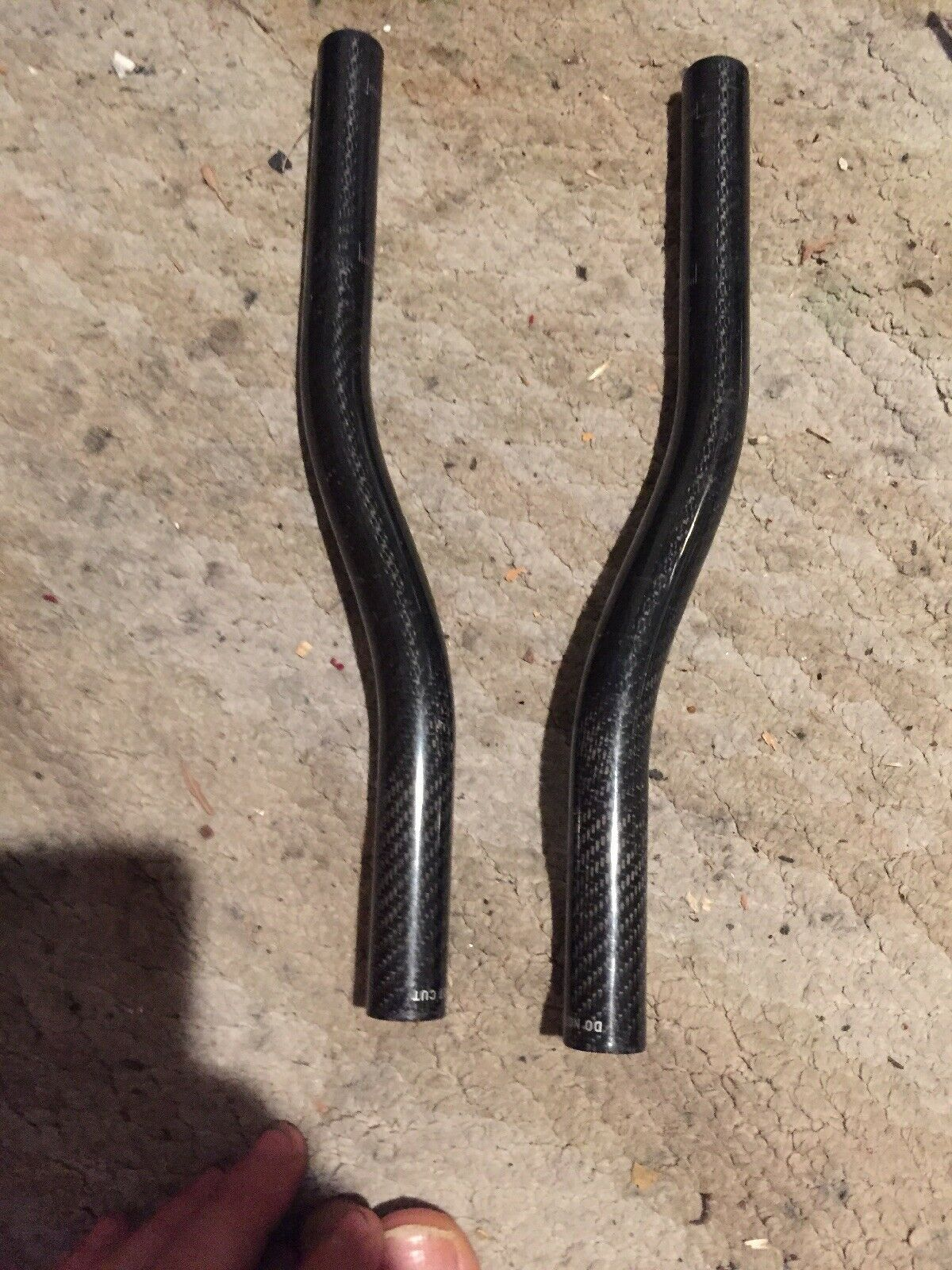 Extensiones de  Barra de Aero de fibra de Cochebono 22.2mm de diámetro  despacho de tienda