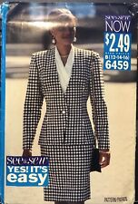 3887 UNCUT Butterick SEWING Pattern Misses Top Belt Shorts Pants See /& Sew Easy