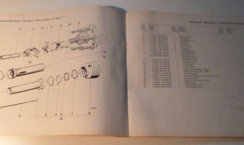 Deutz Fahr Hochdruckpresse HD360 Ersatzteilkatalog