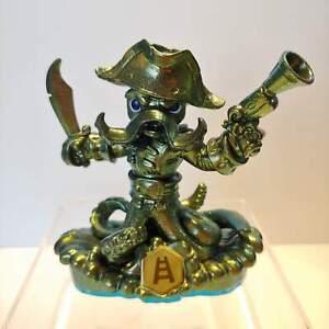 Metallic-Green-Gold-WASH-BUCKLER-Rare-Variant-Skylanders-SWAP-FORCE-Character