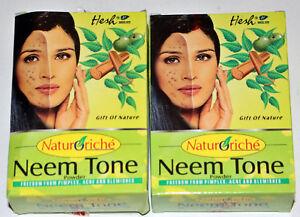 Neem tone natürliche Gesichtsmaske, Pulver mit Neembaumbestandteilen, 2 x 50g - Hamburg, Deutschland - Neem tone natürliche Gesichtsmaske, Pulver mit Neembaumbestandteilen, 2 x 50g - Hamburg, Deutschland