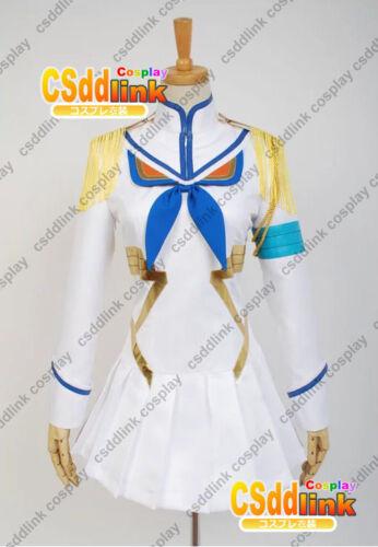 kill la kill Satsuki Kiryuin cosplay costume white uniform