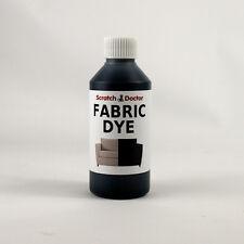 BLACK Fabric Dye for Sofa, Clothes, Denim, & more. Repairs & Re-Colours