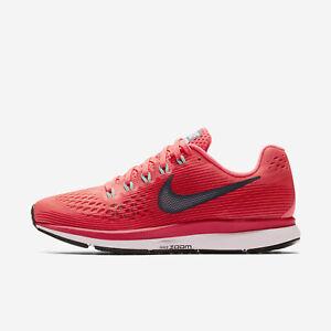 meet 692b5 b2c16 Details about Wmns Nike Air Zoom Pegasus 34 Sz 9.5 Hot Punch Blue  880560-602 FREE SHIPPING
