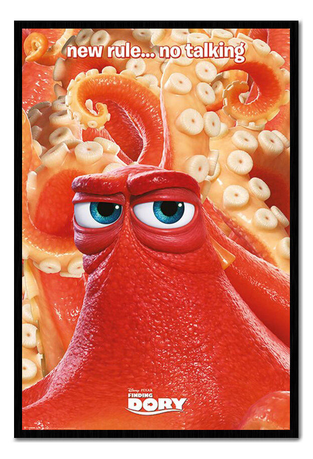 Finding Dory New Rule É No Talking Magnetic Notice Board Includes Magnets