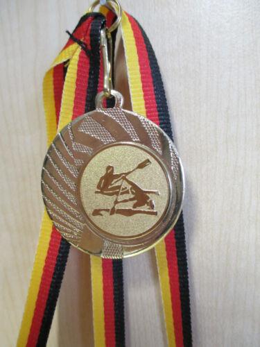 Rudern Pokal Kids 20 x Medaillen Deutschland-Bändern Turnier Emblem Kanu Kajak