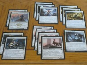 Pauper-Heroic-Starter-Lot-Magic-the-Gathering-White-1-1-Creatures-NM-MP