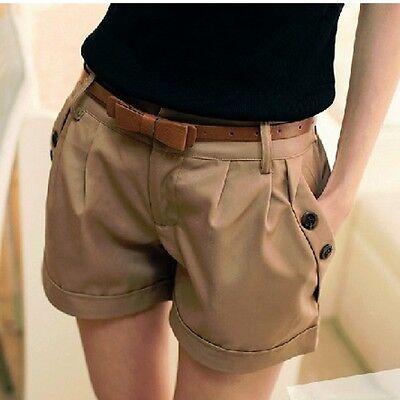 New Women girls Fashion Korean Women's Summer Shorts Pants Casual Shorts Khaki